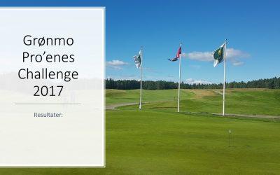 Resultater Grønmo Pro'enes Challenge