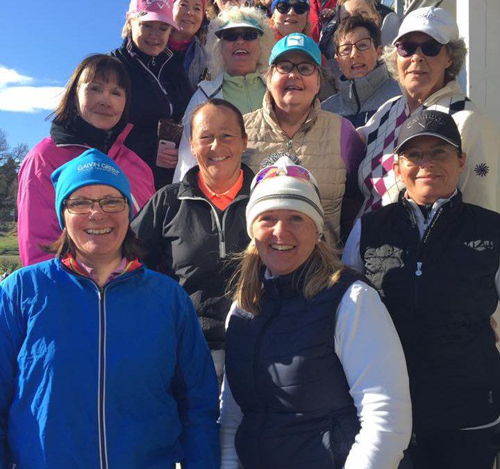 Grønmodamene var igjen på vårtur til Strømstad Golfklubb 22-23.april