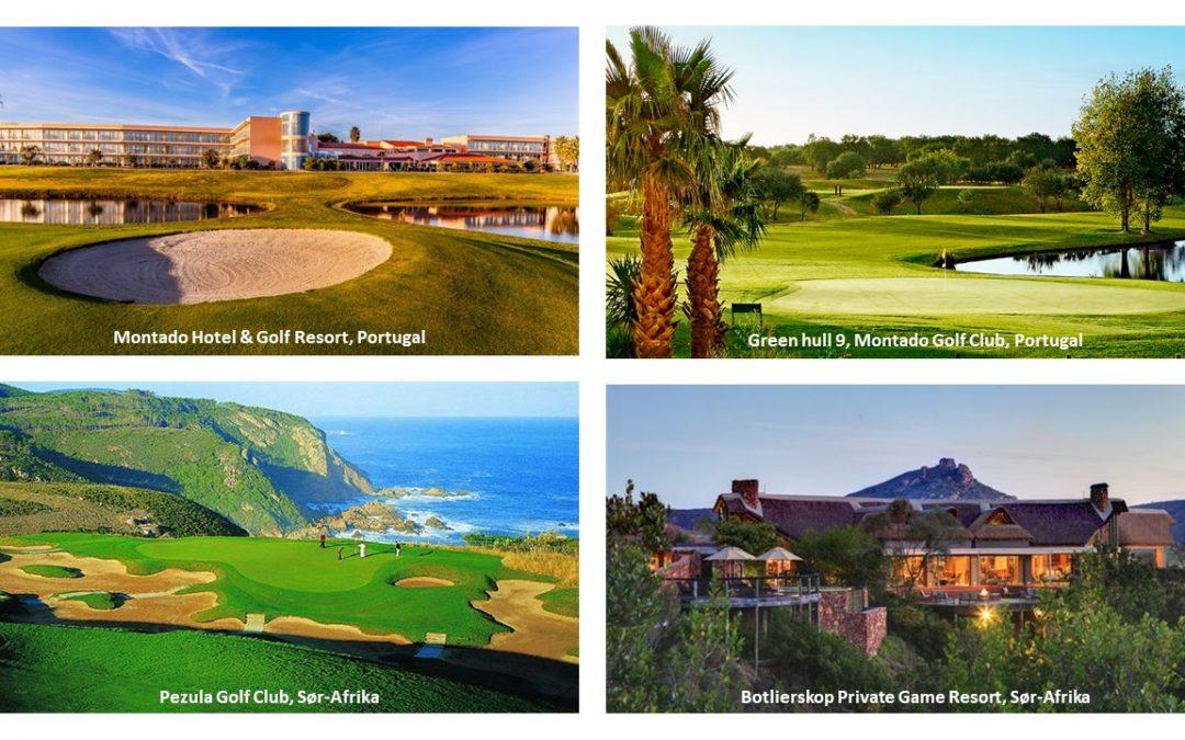 Golfreiser i oktober og november 2017!